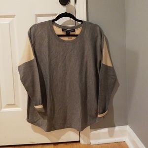 Grey/Blush French Connection Sweater